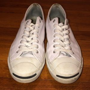 CONVERSE Leather Jack Purcell Shoes